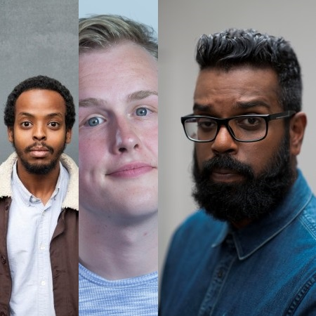 5-Jul Mo Omar Josh Jones and Romesh Ranganathan Tringe 2019.jpg